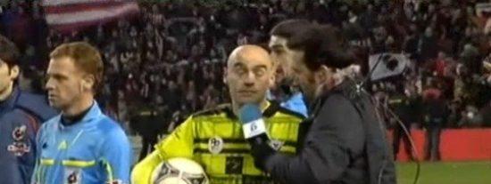 """Juanma Castaño peca de falta de tacto con Pablo Infante tras la derrota del Mirandés: """"Vaya fiesta, ¿no? ¡Merece la pena vivir esto!"""