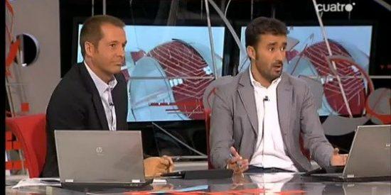 'Deportes Cuatro' sigue avivando la llama anti-Mourinho que se salda con un enfrentamiento dialéctico entre uno de sus presentadores, Juanma Castaño, y un periodista de Mundo Deportivo