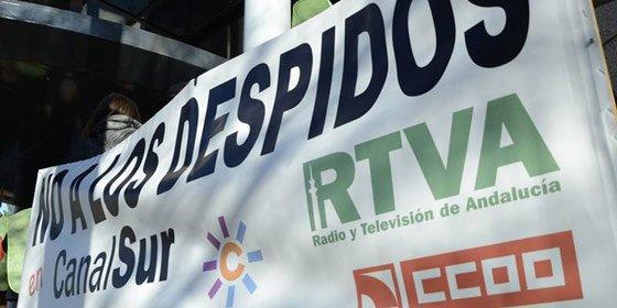 Huelga en Canal Sur en protesta por los despidos de Pablo Carrasco