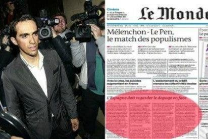 """'Le Monde': """"Antes que reconocer el problema del dopaje e intentar solucionarlo, las autoridades españolas continúan apoyando a sus campeones"""""""