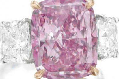 Hallan un diamante gigante rosa en una mina australiana