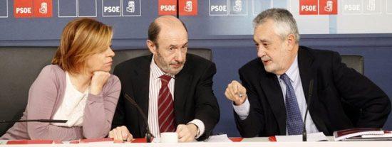 ¿Todos son de Rubalcaba? Valenciano quita hierro a la crisis del PSOE sevillano, que se agrava