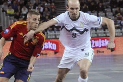 España debuta con victoria en el Campeonato Europeo de fútbol sala