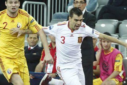 España derrota a Rumanía y ya está en semifinales del Europeo de fútbol sala