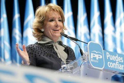 """Esperanza Aguirre: """"Tenemos agitadores profesionales alentados por el partido socialista"""""""