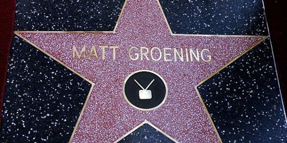 Matt Groening ya tiene su estrella en el Paseo de la Fama