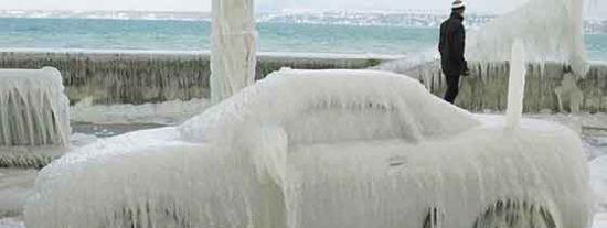 La ventisca causará una sensación térmica de hasta 20° bajo cero