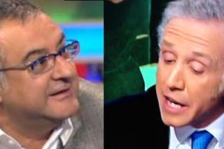 """Eduardo Inda asegura que Roberto Gómez tiene """"tics fascistoides"""" y éste abandona el plató de 'Futboleros'"""