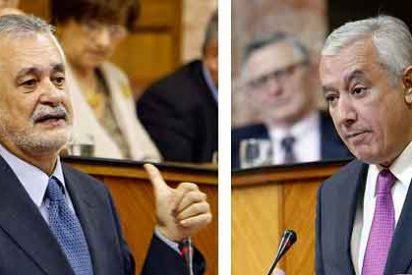 El hundimiento de Griñán coloca al PP en la Presidencia de la Junta