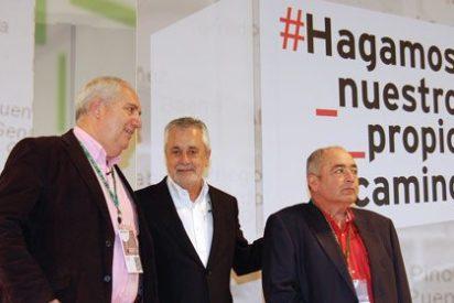 Griñán se suma a las protestas de los sindicatos, que declinan asistir como invitados al congreso del PP