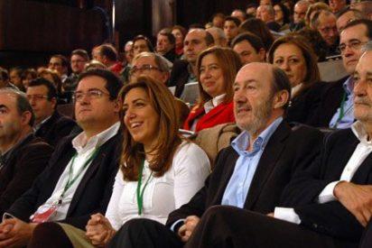 """Griñán ignora las encuestas y promete una agenda por el empleo """"en tres meses"""""""