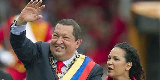 El tirano Hugo Chávez festeja por todo lo alto su pasado de golpista