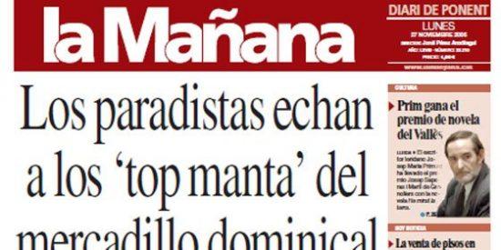 'La Mañana' de Lérida va a la huelga: les deben seis meses de sueldo