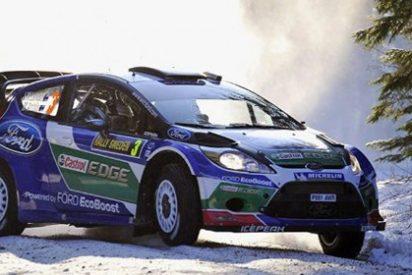 El piloto Jari-Matti Latvala se alza con la victoria en el Rally de Suecia