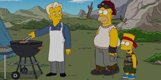 Julian Assange, el nuevo vecino polémico de 'Los Simpson'