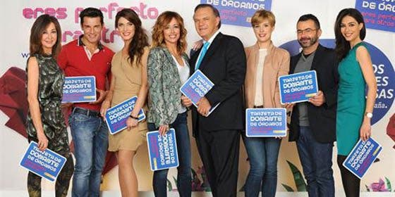 La nueva campaña de Mediaset promueve los transplantes