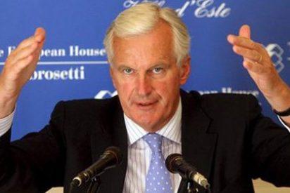 Barnier visita la ONCE para conocer su modelo de empleo para discapacitados