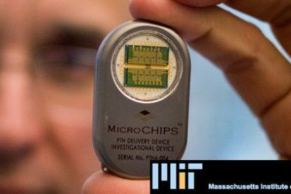 Unos microchips controlan el suministro de medicinas bajo la piel
