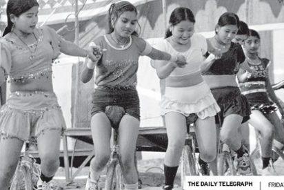 La trata de niñas nepalíes para circos indios es un negocio lucrativo