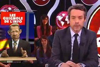 Los guiñoles franceses dicen que el ministro Wert le pega a la cocaína