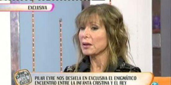 """Tras asegurar que los Reyes no apoyaban a Urdangarín, Pilar Eyre asegura: """"La Familia Real le arropa porque cree que es inocente"""""""