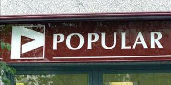 Los ingresos del Banco Popular descienden un 18.7%