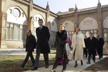 Los Príncipes de Asturias inauguran la catedral rehabilitada de Tarazona