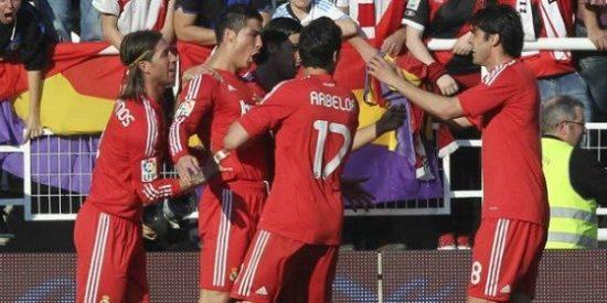 Cristiano Ronaldo y un taconazo genial desatascan al Madrid