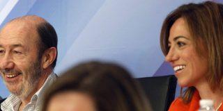 Griñán aguanta en su 'neutralidad activa': ni Chacón ni Rubalcaba
