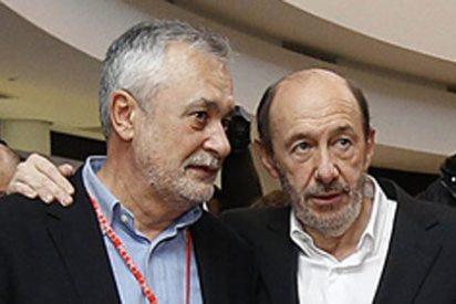 Griñán sabrá si su 'acuerdo' de paz con Rubalcaba funciona en las candidaturas del 25M