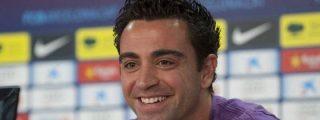 """Xavi, optimista: """"Tenemos ganas de remontar estos diez puntos injustos"""""""