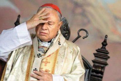 Los platos rotos del cardenal Sandoval en el monento de su adiós