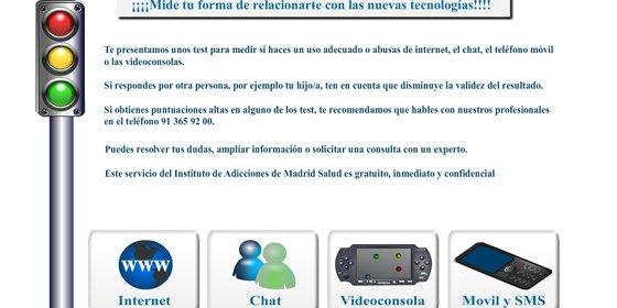 Madrid diseña un test para saber si es adicto a las nuevas tecnologías