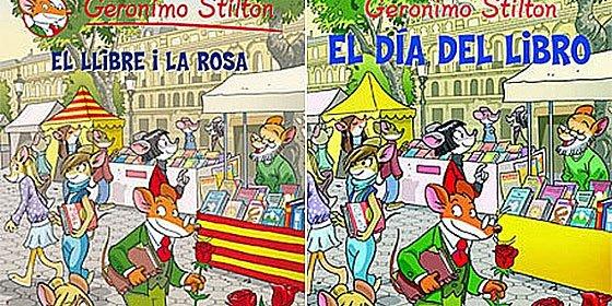Banderas catalanas de 'quita y pon' según la edición de un libro infantil