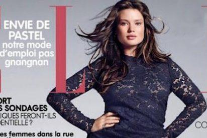 La revista 'Elle' francesa descubre las curvas de Tara Lynn