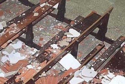 Cuatro mujeres heridas en Cantabria al ceder el techo de una iglesia por la nieve