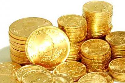 A unos obreros les cae del techo una lluvia de 500 monedas de oro