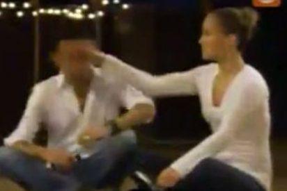 Jennifer López le arrea una bofetada a Marc Anthony