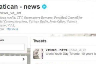 Los mensajes de Benedicto, vía Twitter