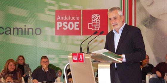 """Griñán reprocha a Rajoy el uso """"electoral"""" del bicentenario de 'La Pepa'"""