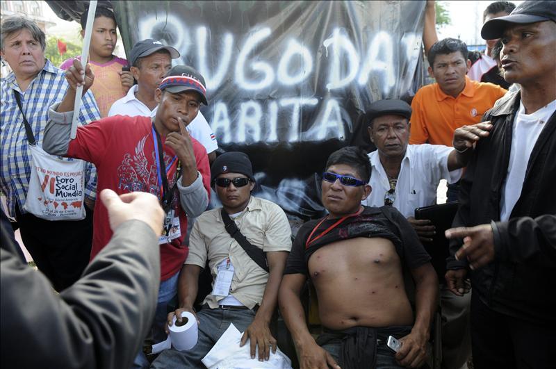 """Los indígenas continuarán el diálogo en terreno """"neutral"""" y con Martinelli"""