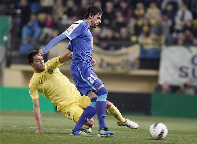 1-2. El Getafe traspasa la angustia al Villarreal