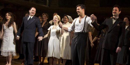 """Cancelan la segunda función de """"Evita"""" en Broadway por una inundación en el teatro"""