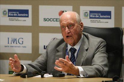 Joao Havelange está hospitalizado en Río de Janeiro en estado grave