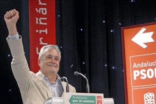 """Griñán admite que el caso de los ERE le """"pasará factura"""" el 25M"""