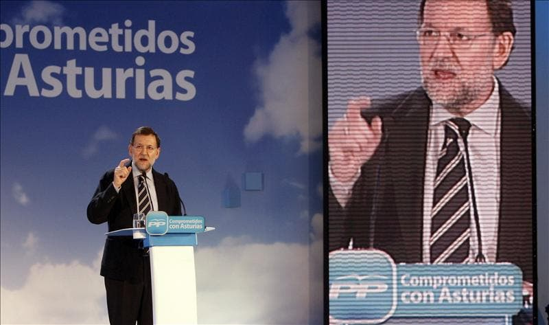 Rajoy y Rubalcaba coincidirán en la campaña electoral en Asturias