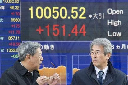 El Nikkei sube 140,39 puntos, el 1,40 por ciento, hasta 10.158,63 puntos