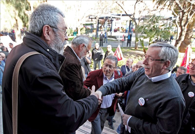 Toxo y Méndez intervendrán en la concentración de piquetes previa a la huelga