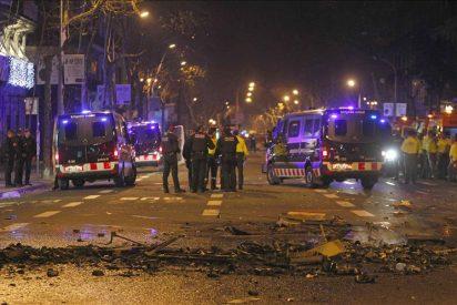 Seis detenidos por desórdenes públicos tras la manifestación en Tarragona