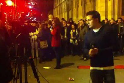 Manifestantes de Barcelona agreden a periodistas de varios medios al grito de